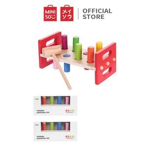 Bộ đồ chơi gõ bằng gỗ Miniso TG1049 - Hàng chính hãng