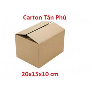 20x15x10 – 1 Hộp carton đóng hàng siêu rẻ ♥️ FREESHIP ♥️ XẢ KHO TP1