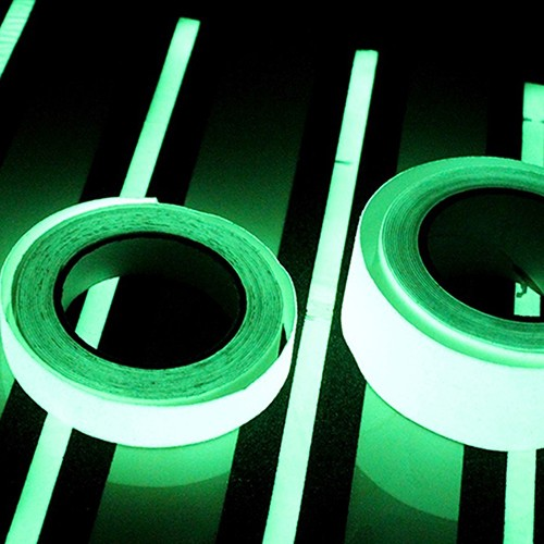 3M Luminous Tape Self-adhesive Glow In The Dark Safety Stage Home Decoration A24