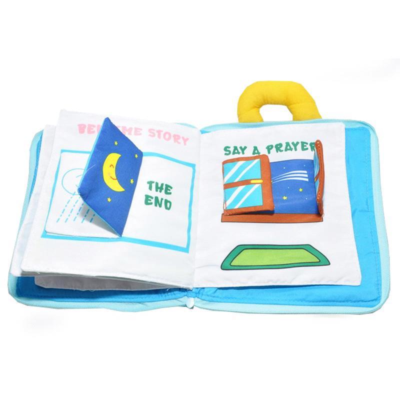 1 sản phẩm sách vải hình chú gấu đáng yêu dành cho trẻ em