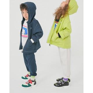 Áo khoác kaki bé trai bé gái Robot. HA1964 (2 màu)