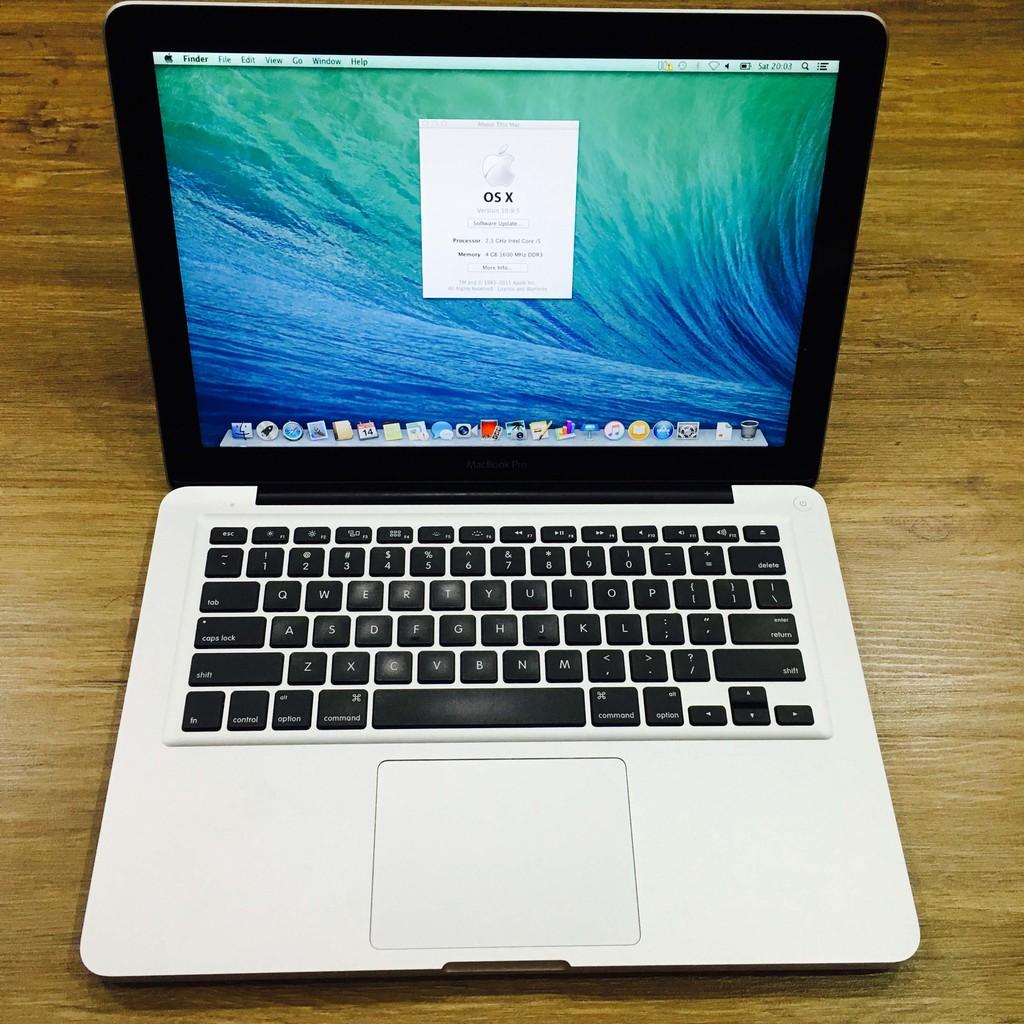 Macbook Pro 13″, Mid 2012 (Core i5 2.5Ghz, Ram 4GB, SSD 128GB) nguyên zin, giá tốt Giá chỉ 9.500.000₫