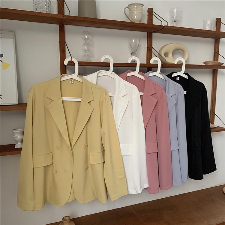 Áo Khoác Blazer Chống Nắng Thời Trang Hàn Quốc Có Nhiều Màu Tự Chọn