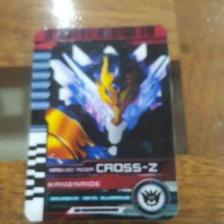 Thẻ bài kamen rider cross-z