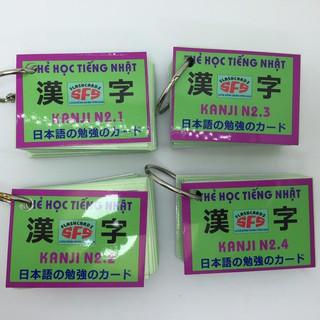 Bộ thẻ tiếng nhật kanji n2 (4 xấp) thumbnail