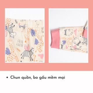Hình ảnh Bộ Quần Áo Dài Tay Cho Bé Trai Và Bé Gái (1-9 Tuổi) K's Closet E044TEF TM-6