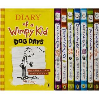 Truyện Ngoại văn Diary of a Wimpy Kid Box of Books 1-8 (Tập 1 đến 8) thumbnail