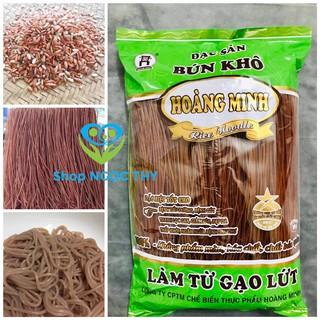 Đặc sản Bún gạo lứt Hoàng Minh 500gr, bún dai ngon healthy