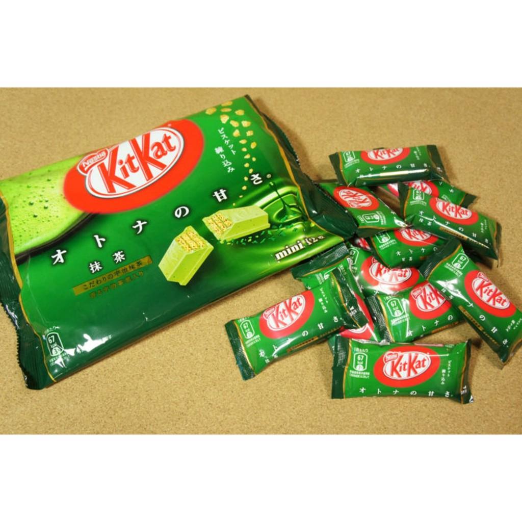 Combo 3 gói bánh kitkat trà xanh Nestle - nhật bản
