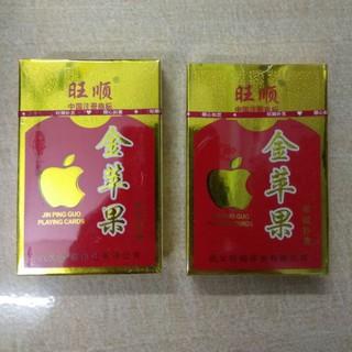 10 bộ bài tây đẹp hình quả táo ( 1 cây )