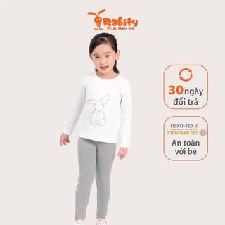 Áo dài tay bé gái Rabity 90724.9830