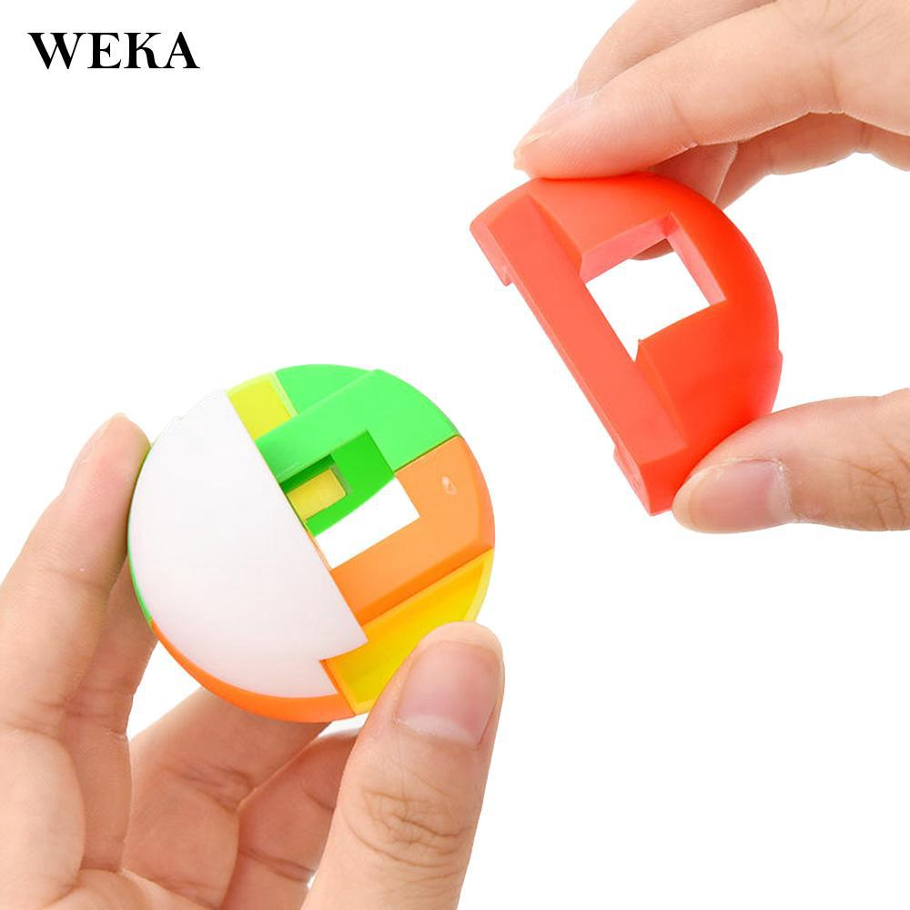 DIY Assemble Building Block Ball Kids Toy Color Recognition 3D Puzzle Elegant