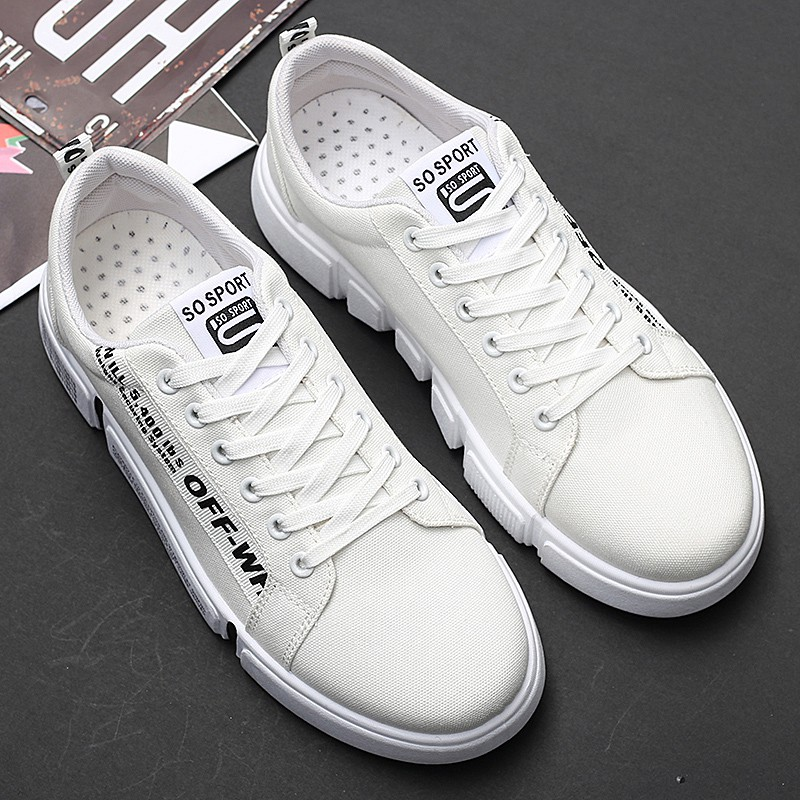 Shoes men's Korean version of the trend of casual canvas sho