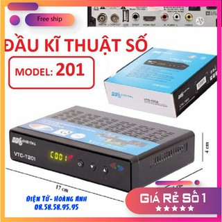 Đầu thu kỹ thuật số DVD -T2. VTC T201- giá tốt