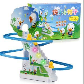 Bộ đồ chơi Vịt Con leo cầu thang cho bé