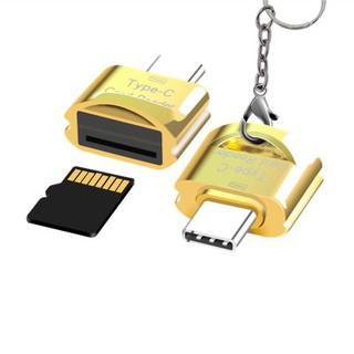 Đầu đọc thẻ nhớ mini OTG cổng Type-C chuyên dụng