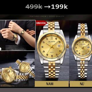 Đồng hồ Đôi chính hãng Wlisth CHỐNG NƯỚC CHỐNG XƯỚC TỐT thumbnail