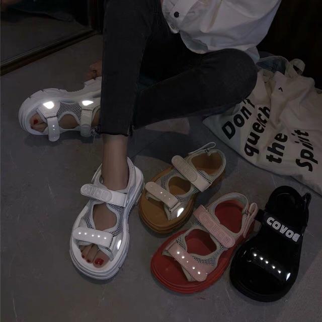 Sandal phản quang Ulzzang hot 2019