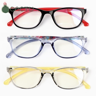 [COD] CACTU Fashion Comfortable Eyeglasses TR90 Ultra Light Frame Kids Glasses Portable Online Classes Computer Children Boys Girls Eye Protection Anti-blue Light , Kids Glasses