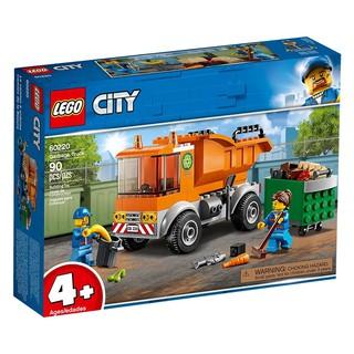LEGO CITY 60220 Xe Tải Chở Rác ( 90 Chi tiết) thumbnail