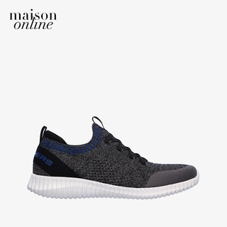 SKECHERS - Giày sneaker nam phối dây Elite Flex Karnell 232048-CHAR thumbnail