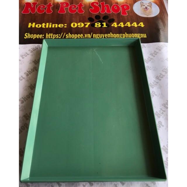 Khay mâm nhựa lót chuồng vệ sinh cho chó mèo và thú cưng ĐỦ SIZE KÍCH THƯỚC - 2890225 , 840910886 , 322_840910886 , 55000 , Khay-mam-nhua-lot-chuong-ve-sinh-cho-cho-meo-va-thu-cung-DU-SIZE-KICH-THUOC-322_840910886 , shopee.vn , Khay mâm nhựa lót chuồng vệ sinh cho chó mèo và thú cưng ĐỦ SIZE KÍCH THƯỚC