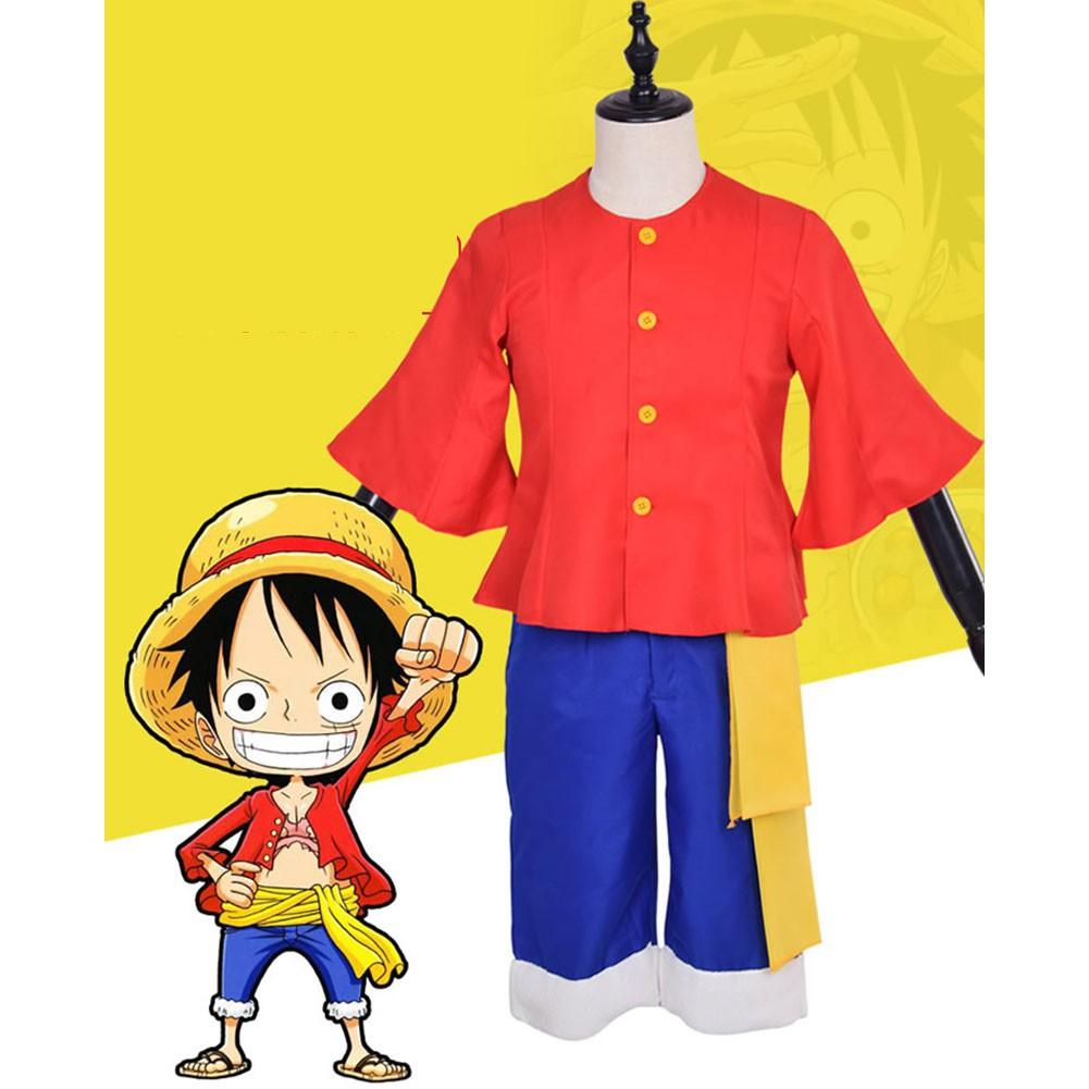 Trang phục hóa trang nhân vật Luffy trong One Piece