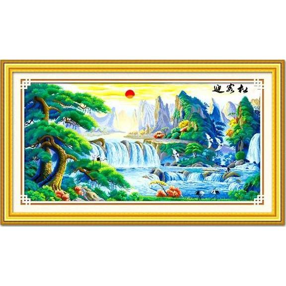 Tranh thêu chữ thập chưa thêu Sơn Thuỷ Hữu Tình (Vải In sẵn 100%) - 3075415 , 457948483 , 322_457948483 , 375000 , Tranh-theu-chu-thap-chua-theu-Son-Thuy-Huu-Tinh-Vai-In-san-100Phan-Tram-322_457948483 , shopee.vn , Tranh thêu chữ thập chưa thêu Sơn Thuỷ Hữu Tình (Vải In sẵn 100%)
