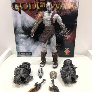 Mô Hình Nhân Vật Kratos God Of War 3 Chính Hãng Neca