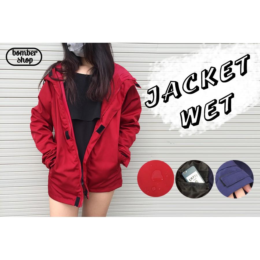 Jacket Wet ÁO KHOÁC DÙ 2 LỚP CHỐNG NƯỚC (Unisex)
