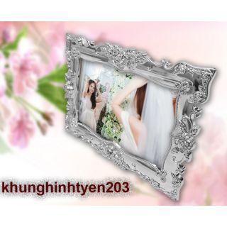 Khung ảnh để bàn trang trí tiệc cưới 13x18