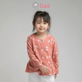 Áo khoác BAA BABY vạt kiểu bèo lai cho bé gái - GT-AK03D