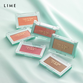 ( 2019 ) Phấn Má Hồng Đa Năng Lime Color & Face Single Blusher 4.5g thumbnail