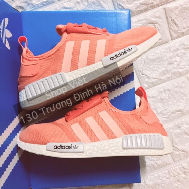 Giày NMD hồng cam size 36-39