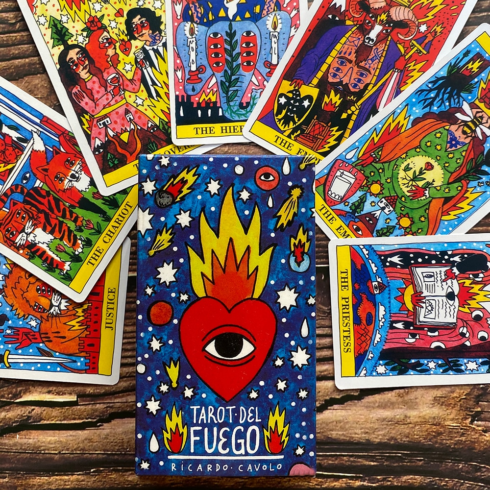 Bộ Bài Tarot Del Fuego