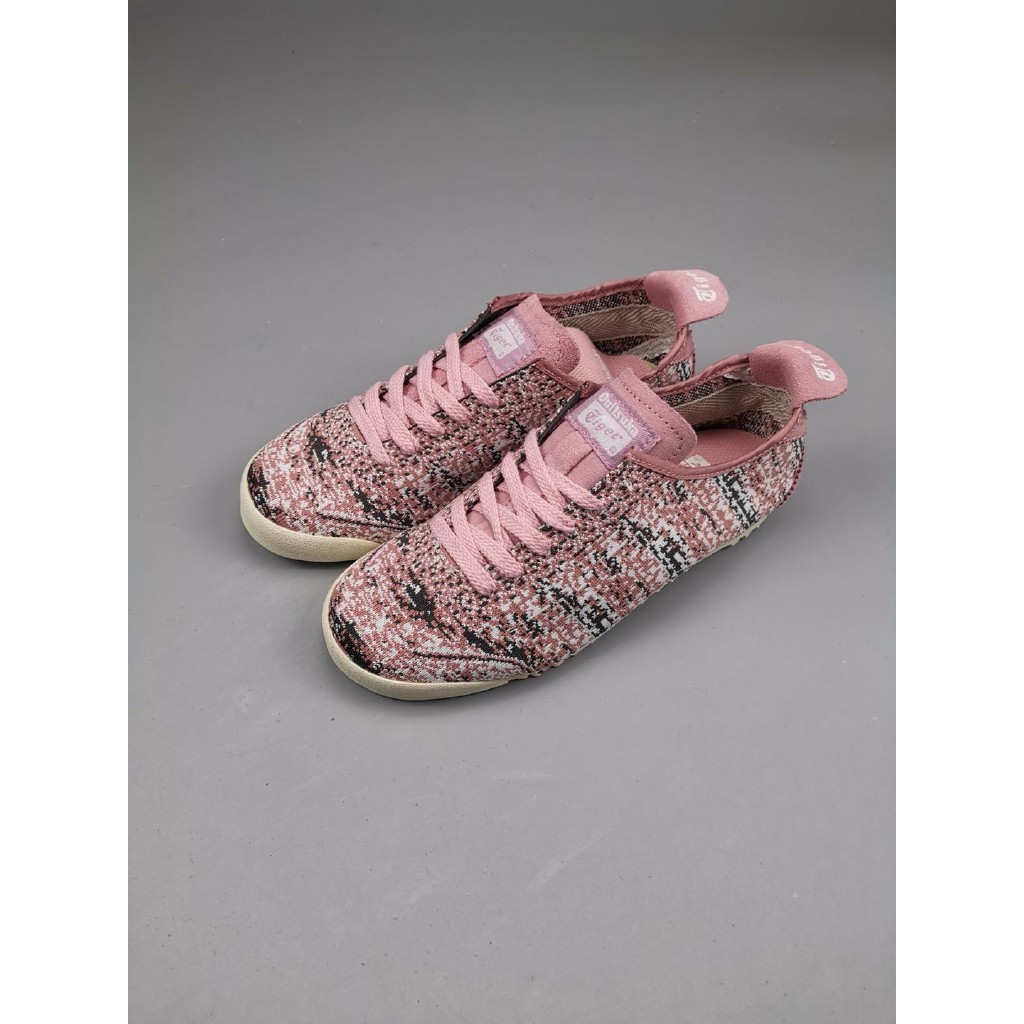 Original Asics Onitsuka Tiger Mexico 66 classic casual  shoes for women pink