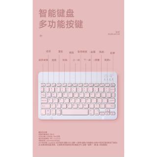 Hình ảnh GOOJODOQ Bộ bàn phím + chuột máy tính không dây bluetooth nhiều màu sắc nhỏ gọn cho iPhone/ iPad (có bán lẻ bàn phím)-5