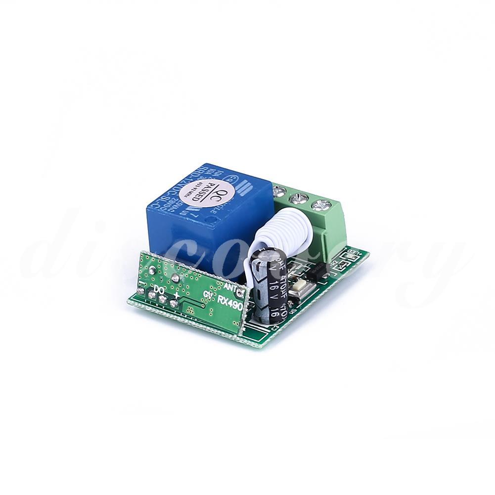 Rơ le công tắc 315MHz / 433MHz 1 kênh tín hiệu RF kèm điều khiển từ xa