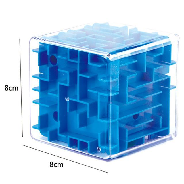 New Funny 3D Maze Magic Cube Puzzle Speed Cube Puzzle Game Labyrinth Ball Toys Magical Maze Ball