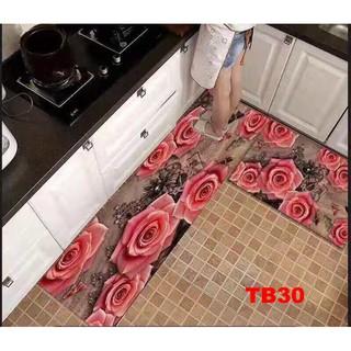 Bộ thảm bếp nỉ nhung lì cao cấp sang trọng TB30 phong cách hàn quốc đem lại không gian tinh tế cho phòng ăn thanh lịch thumbnail