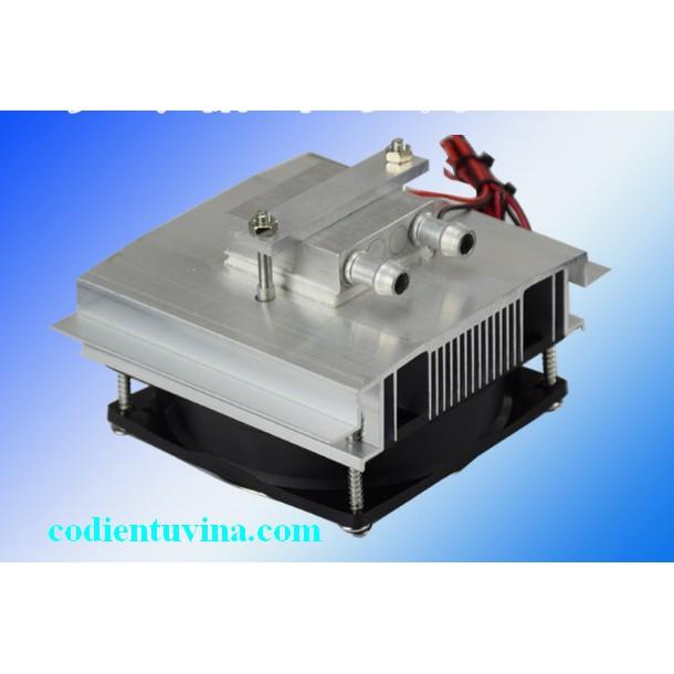 Bộ lắp ghép sò nóng lạnh (12V sò 12706) có kèm tản nhiệt nước