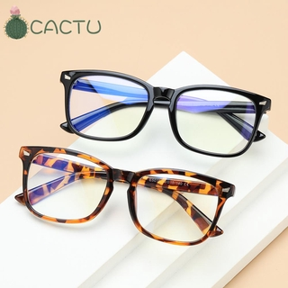 🌵CACTU🌵 Unisex Office Computer Glasses Anti Glare Eyeglasses Anti Blue Light Glasses Goggles Flexible Blue Light Blocking Anti Radiation Video Gaming Glasses