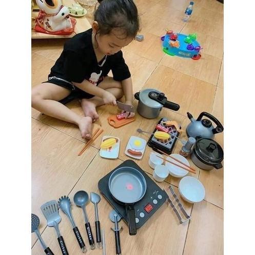 [Oder]❉BỘ NẤU ĂN NHÀ BẾP 36 món đồ chơi trẻ em