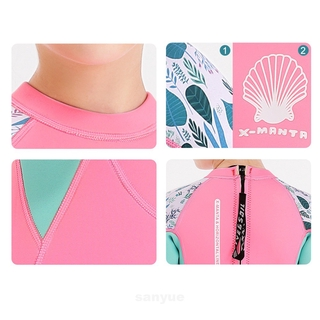 Boys Girls Swimming Holiday Thermal Neoprene Water Sports Full Protection Kids Diving Suit