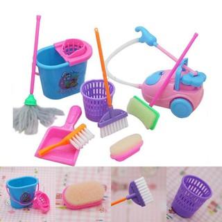 Set đồ chơi dọn vệ sinh 9 món