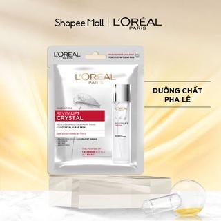 Mặt nạ dưỡng chất pha lê Revitalift Crystal Micro-Essence Treatment Mask L'Oreal Paris 25g