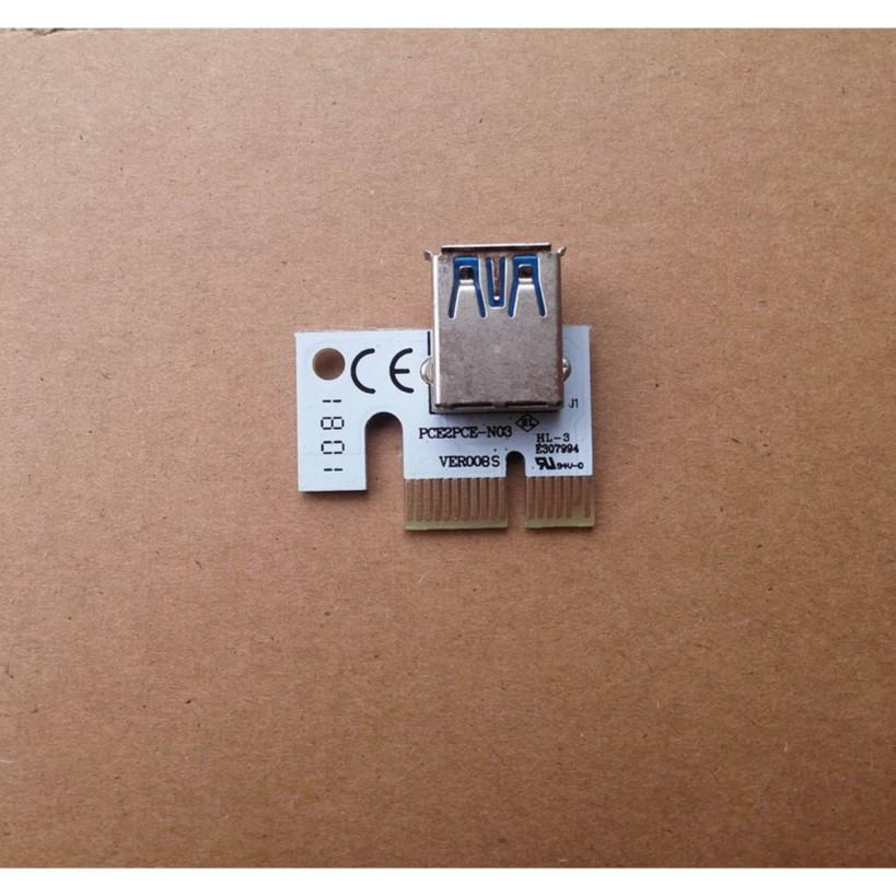 Đầu PCIE 1X cho riser 006C, 007s, 008s, 009s