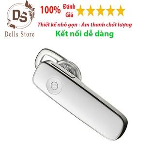 [SALE TẾT] Tai Nghe Bluetooth Không Dây Tai Màu Trắng Kèm Mic Đàm Thoại Nghe Nhạc Wireless Headset M165 - Dells Store thumbnail