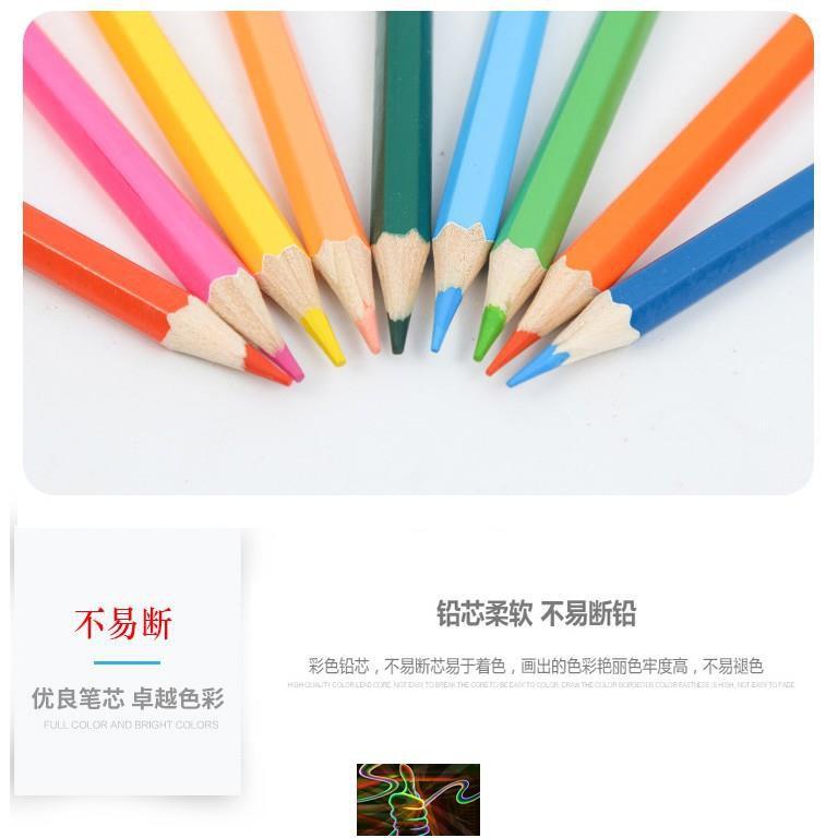 Primary school children's color pencil professional art colo