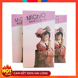 Bao Cao Su MICHIO Cao Cấp Siêu Mỏng, Gân Gai Nhỏ, Hàng Chính Hãng Nhật Bản, Kéo Dài Thời Gian Yêu (Che Tên Sản Phẩm) thumbnail